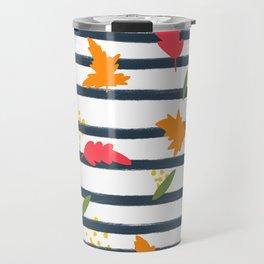 Fall Pattern Travel Mug
