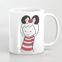 minnie Mugs featuring Minnie 4 by Little Moon Dance