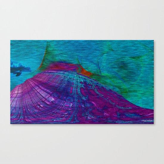 Undersea Exploration Canvas Print