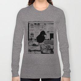 London's Black Raven Long Sleeve T-shirt