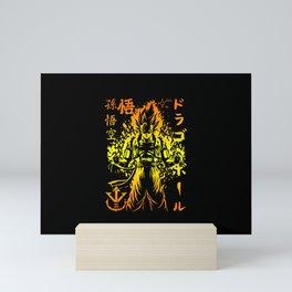 Super Saiyan Mini Art Print