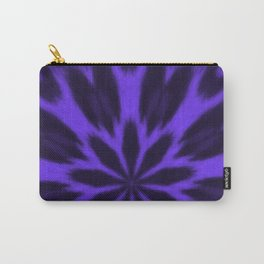Lovely Purple Spotted Leopard Kaleidoscope Carry-All Pouch