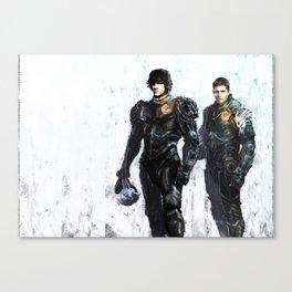 Supernatural Sam & Dean Canvas Print
