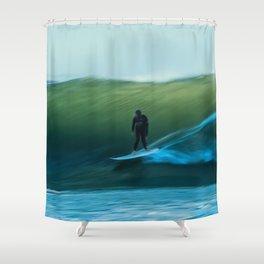 Surfing - The Glide Shower Curtain