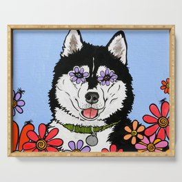 Summit the Husky Serving Tray
