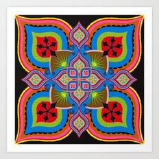 pattern02 Art Print