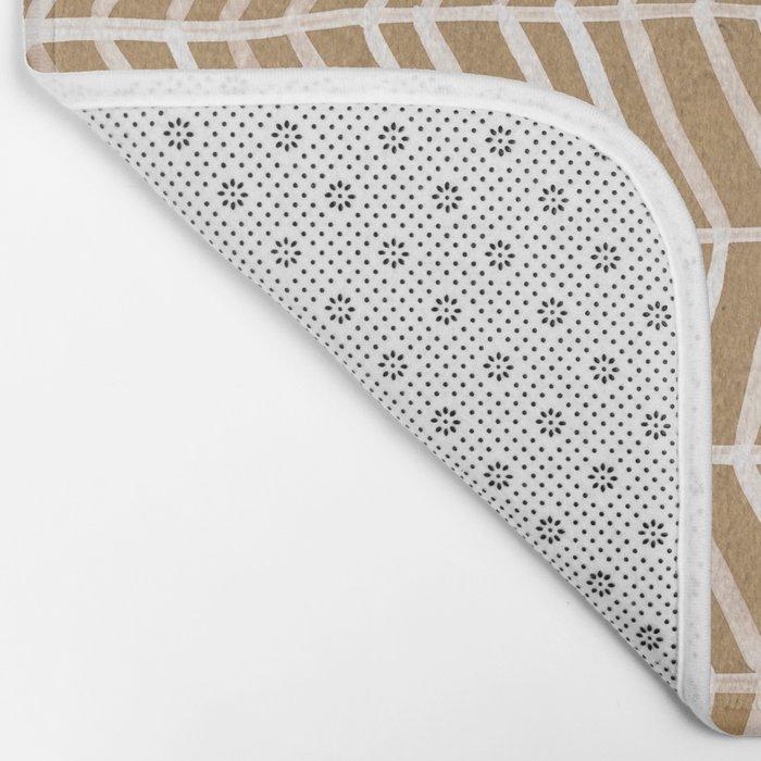 Kraft Herringbone Bath Mat