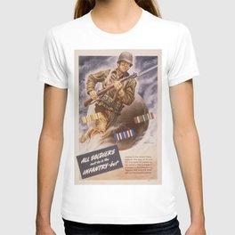 Vintage poster - U.S. Infantry T-shirt