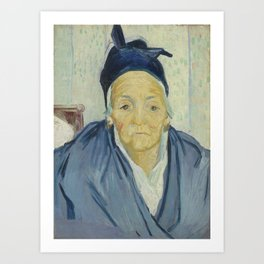 An Old Woman of Arles Art Print