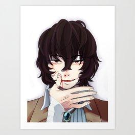 Dazai Osamu Art Print