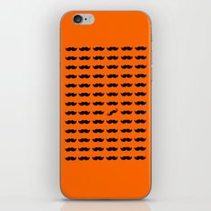 Find The Mustache handlebar iPhone & iPod Skin