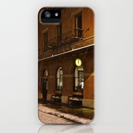 New York after a snowstorm iPhone Case