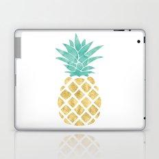 Gold Pineapple Laptop & iPad Skin