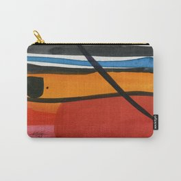 Minimalist Abstraction No. 7 by Kathy Morton Stanion Carry-All Pouch