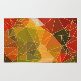 Autumn abstract landscape 6 Rug