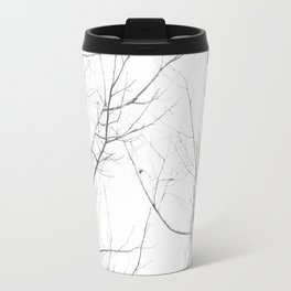 Faded Winter... Tree Branches Travel Mug