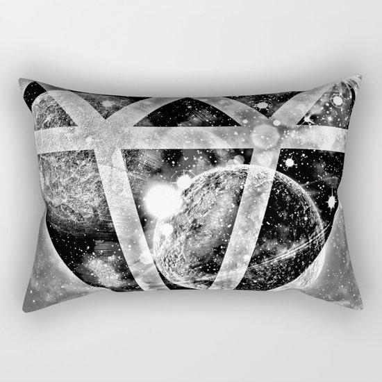 Diamond in the sky Rectangular Pillow