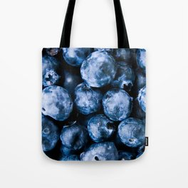 B for Blueberries Tote Bag