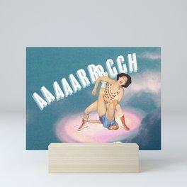 AAAARRRRGGGGH // On Anger Mini Art Print