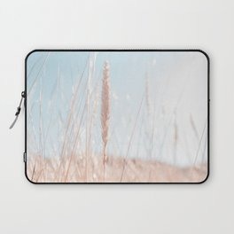 Beach Grass Photo | Nature Photography | Overexposed Beach Grass With BackLight Laptop Sleeve