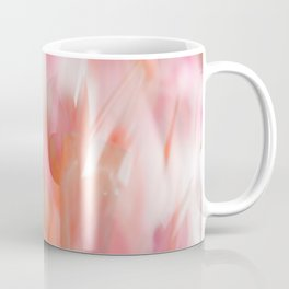 Pink Tulips Abstract Nature Spring Atmosphere Coffee Mug