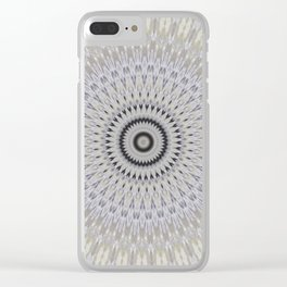 Some Other Mandala 43 Clear iPhone Case