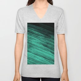 Aqua Step Waves Unisex V-Neck