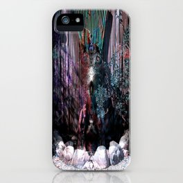 Alien Garden iPhone Case