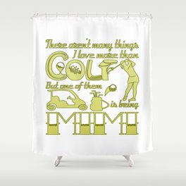 Golf Mimi Shower Curtain