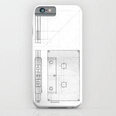 Cassette Tape  Projection iPhone 6s Slim Case