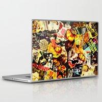 movie posters Laptop & iPad Skins featuring Movie vintage poster by Brigitta