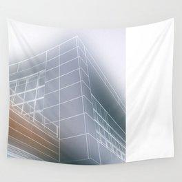 Minimalist architect drawing Wall Tapestry