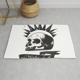 Misfit Skull Rug