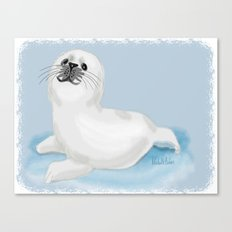 Cool seal Canvas Print