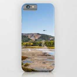 Bear Resort: Caldera Uzon iPhone Case