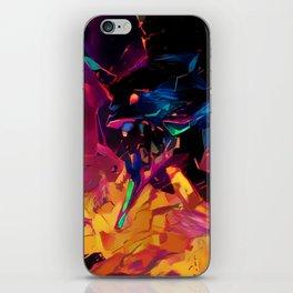 Neon Berserk Mecha iPhone Skin