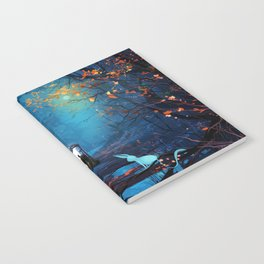 Tardis Lost In The Forest Notebook