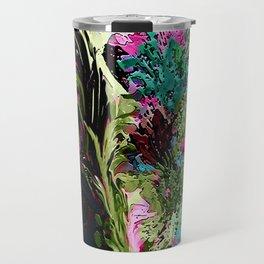 I love being A flower Travel Mug