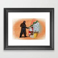 Omar Little strikes again Framed Art Print