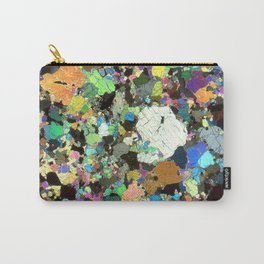 Peridotite Thin Section Print Carry-All Pouch