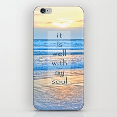 It Is Well With My Soul iPhone & iPod Skin