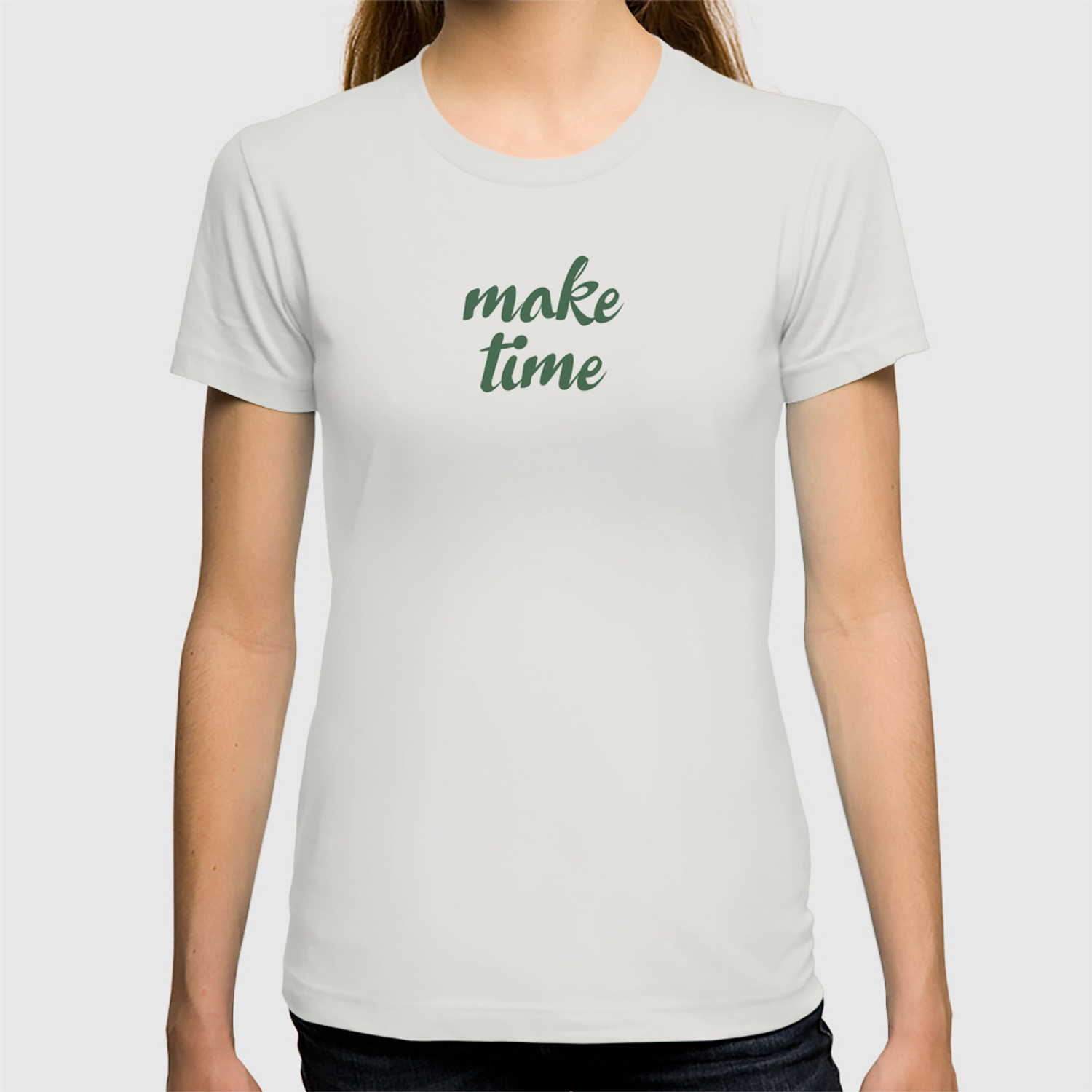fc773ff65f Make Time T-shirt by ninaollis | Society6