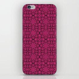 Pink Yarrow Geometric iPhone Skin