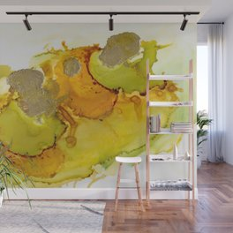Gold Abstract 2 Wall Mural