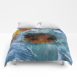 im not cool, cuz im hot Comforters