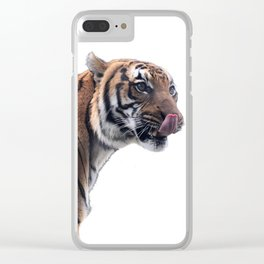 Untamed Memory Clear iPhone Case