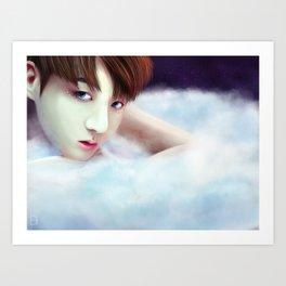 BTS - Jungkook - Angel Art Print