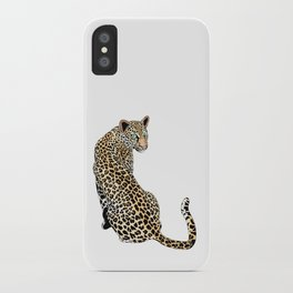 Mrs. Leopard iPhone Case iPhone Case