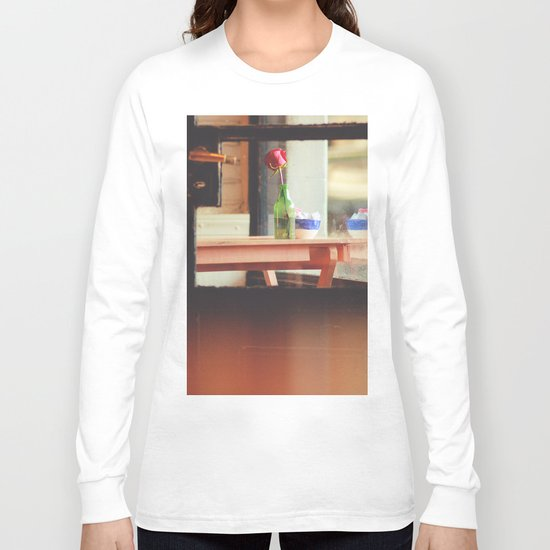 The table by the window Long Sleeve T-shirt