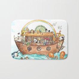 Noah's Ark Bath Mat